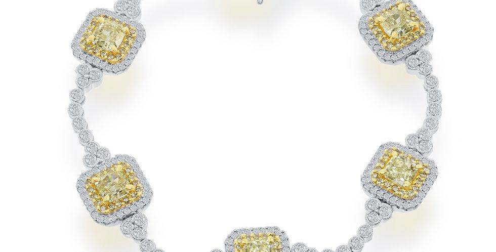 Jewels by Jacob Fancy Yellow Diamond Bracelet
