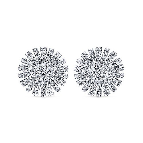 Gabriel & Co.- Diamond Burst Earrings