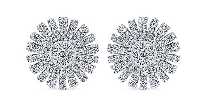 Gabriel & Co.- Diamond Burst Earrings