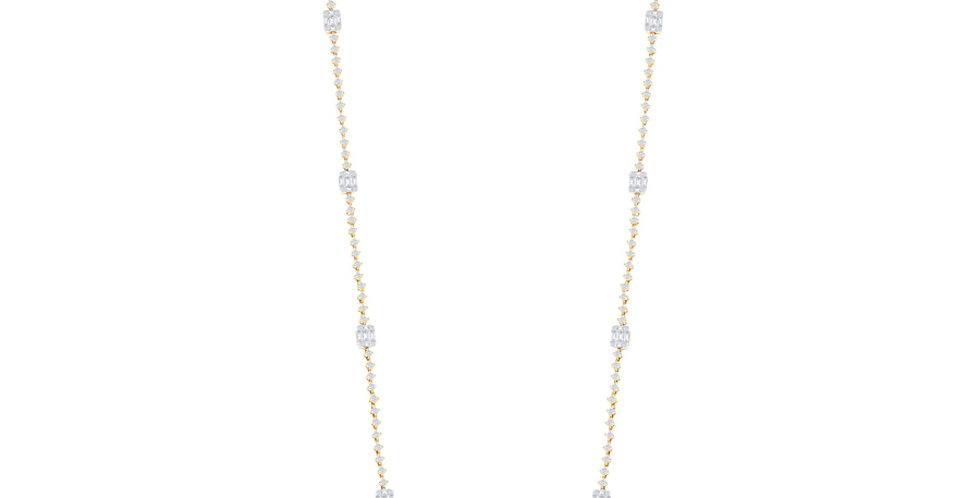 Jewels by Jacob Diamond Infinity Necklace