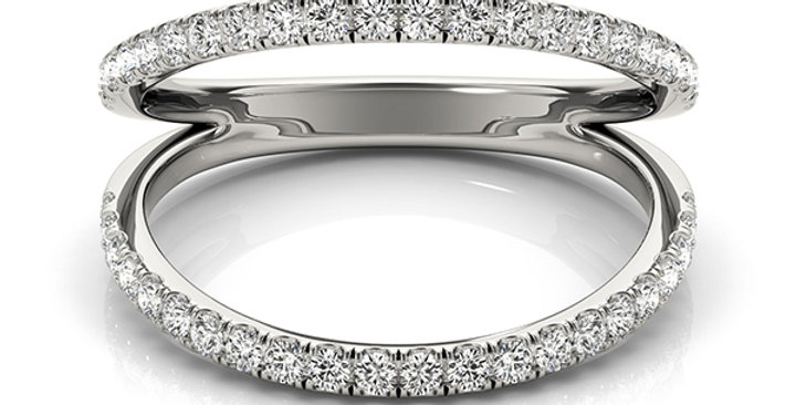 Split Diamond Ring