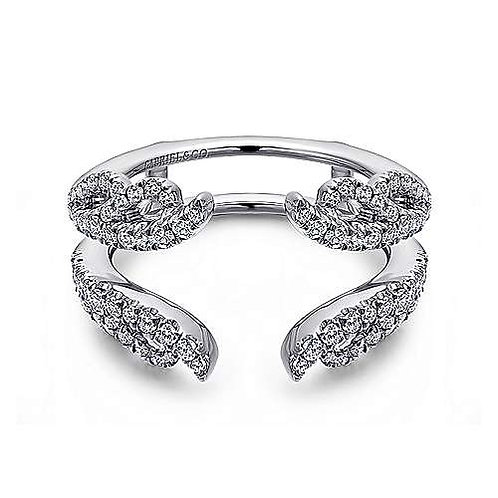 Gabriel & Co - Floral Diamond Ring Enhancer
