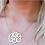 Thumbnail: Jane Basch - Freeform Script Monogram Necklace