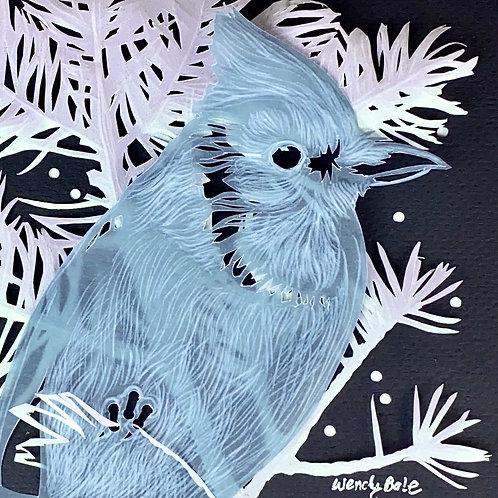 Blue Vellum