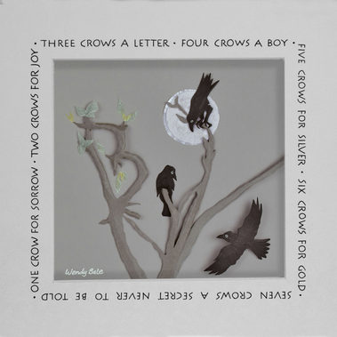 Counting Crows —3 crows a letter