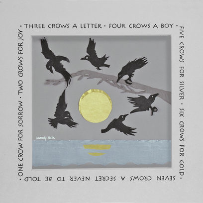 Counting Crows—6 crows for gold