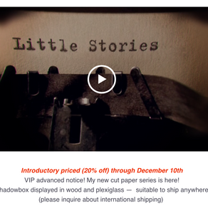 """Snippets: """"Little Stories"""" art release"""