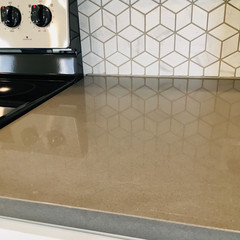 Granite and designer Tile