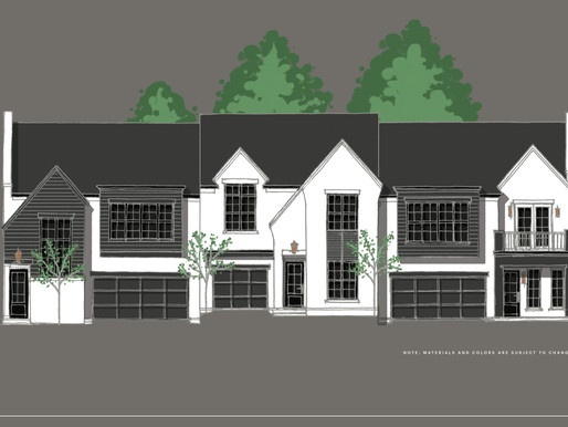 Brentwood Tennessee Luxury Townhomes in Development