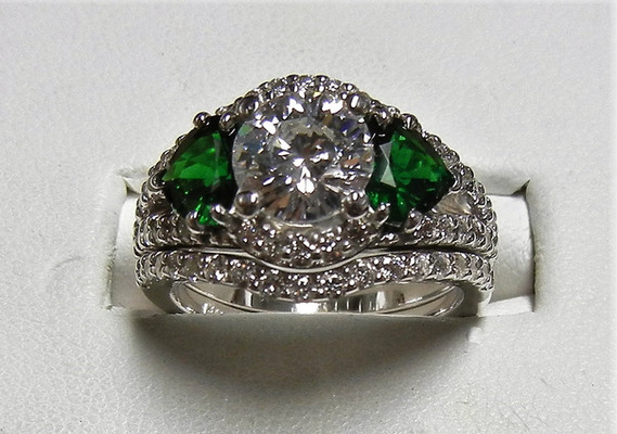 Diamond & Tsavorite