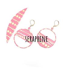 boucles d'oreilles Séraphine