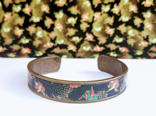 Bracelet Elina noir/origami