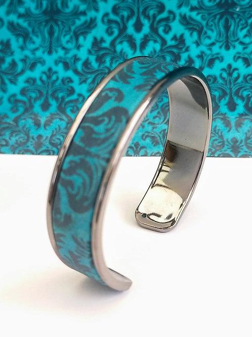 Bracelet Elina bleu turquoise/foncé