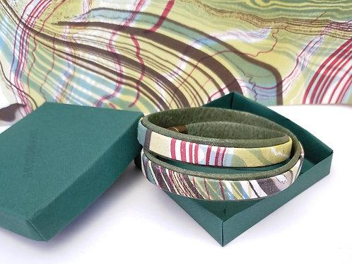 Bracelet Milla vert pour homme