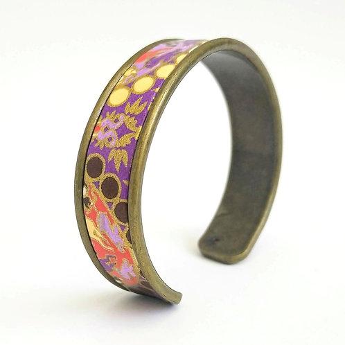 Bracelet Elina bleu violet