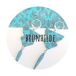 boucles d'oreilles Brunhilde