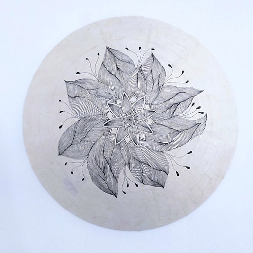 Applique Azalaïs motif fleur
