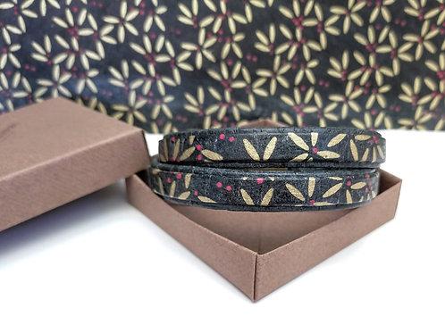 Bracelet Milla marron et or pour homme
