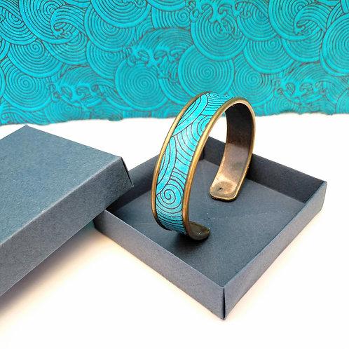 Bracelet Elina bleu turquoise