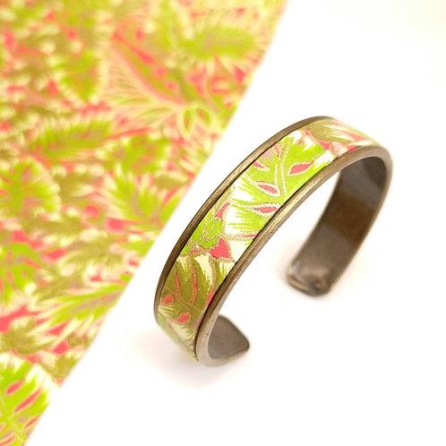 Bracelet Elina vert/rouge