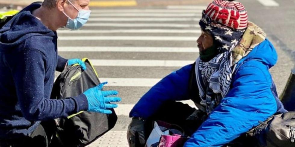 SRA Ministries is Collecting Urgent Need Items for the homeless. // Colección de Artículos de Primera Necesidad