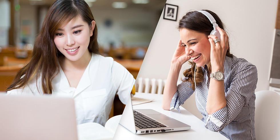 Clases de Verano de Inglés de Manera Virtual - Summer School For Virtual ESL Classes