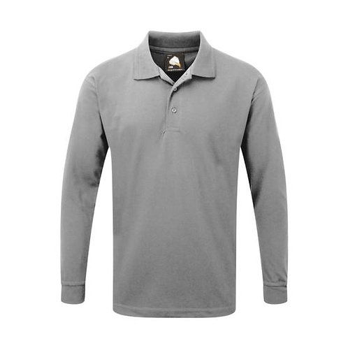ORN Weaver Long Sleeve Polo Shirt