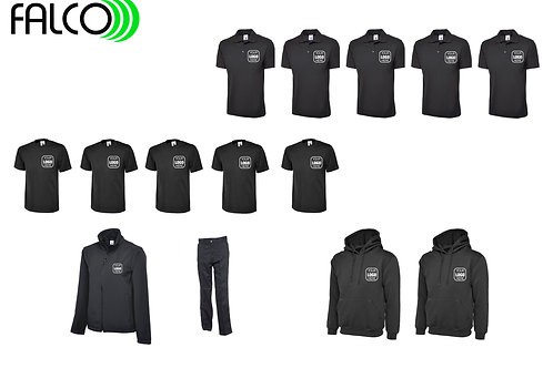 Uneek Clothing Small Bundle with Sweat Tops