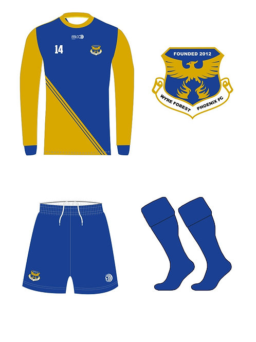 WFPFC Football Home Kit