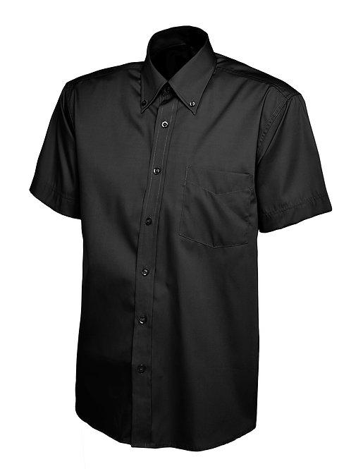 Uneek Clothing UK Mens Pinpoint Oxford Short Sleeve Shirt