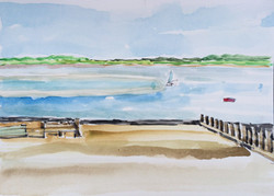 Low Tide at Lighthouse $300