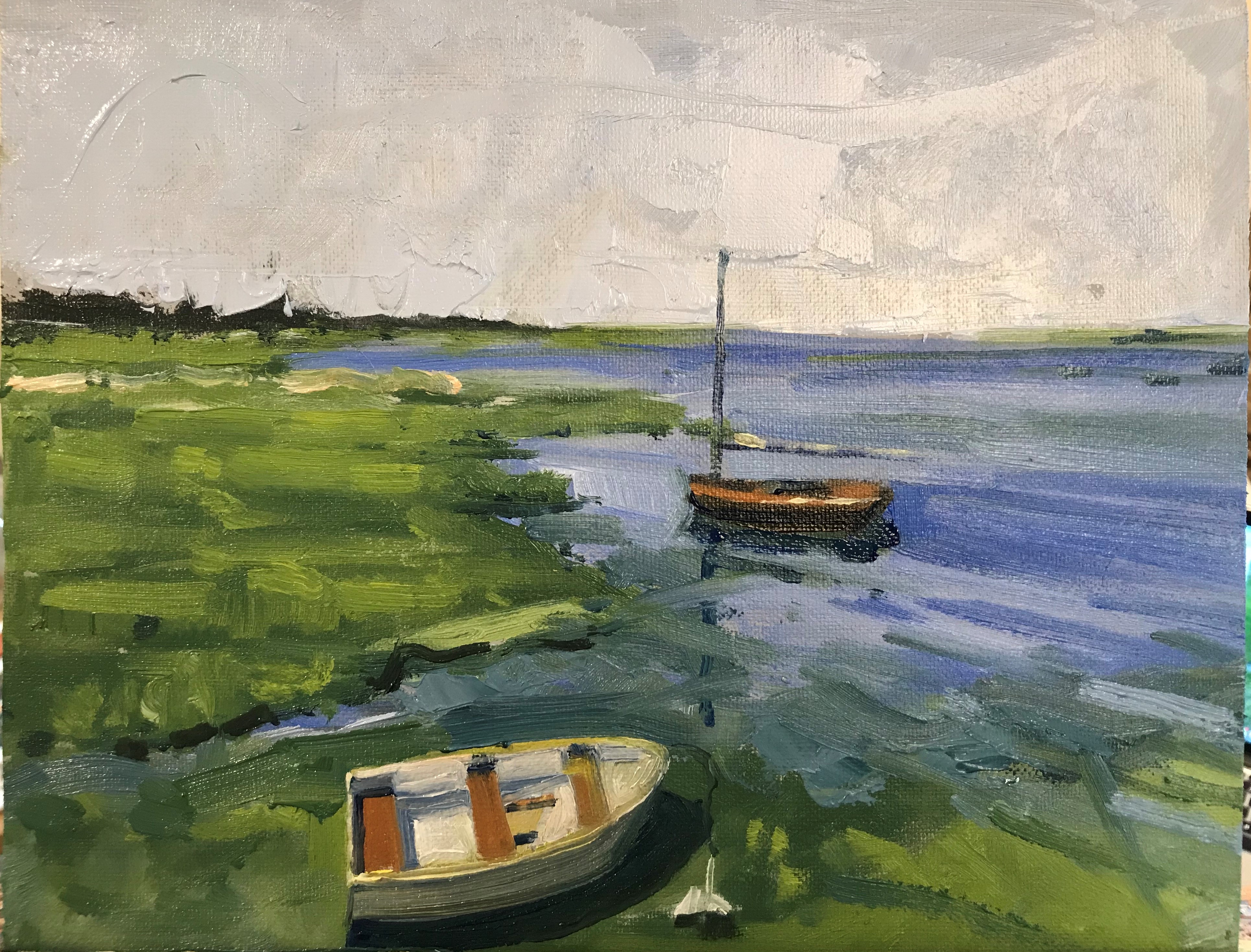 Two Boats Napping $500