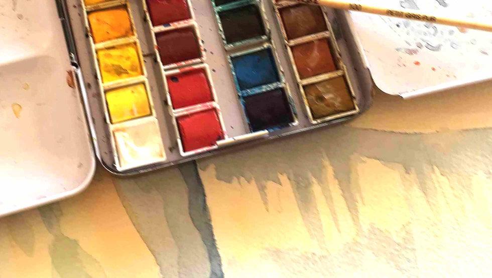 aquarelles Sonia Di Maccio