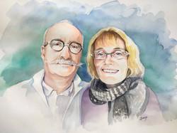 30 ans de mariage de deux charentais