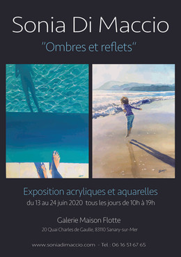 """At the """"Maison Flotte"""" gallery in Sanary-sur-mer 2020"""