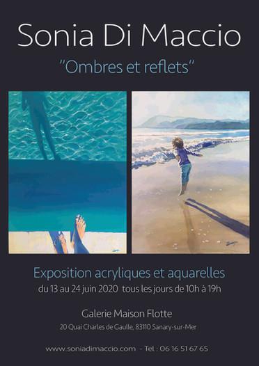 """A la """"galerie Maison Flotte"""" à Sanary-sur-mer 2020"""