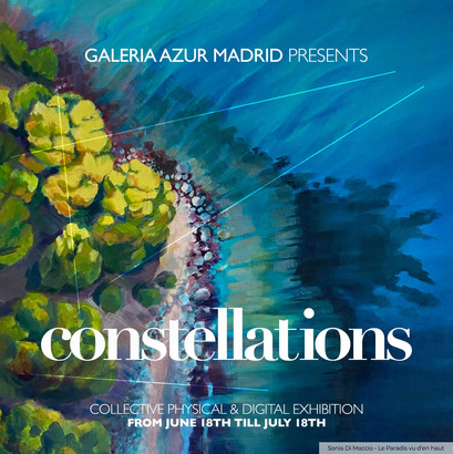 """Exposition en Espagne à la """"Galería Azur"""" à Madrid   du 18 juin au 18 juillet 2021"""
