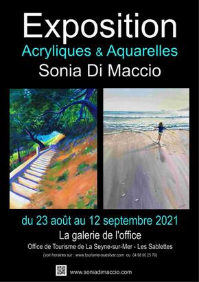 """A la """"galerie de l'Office"""" à la Seyne-sur-Mer 2021"""