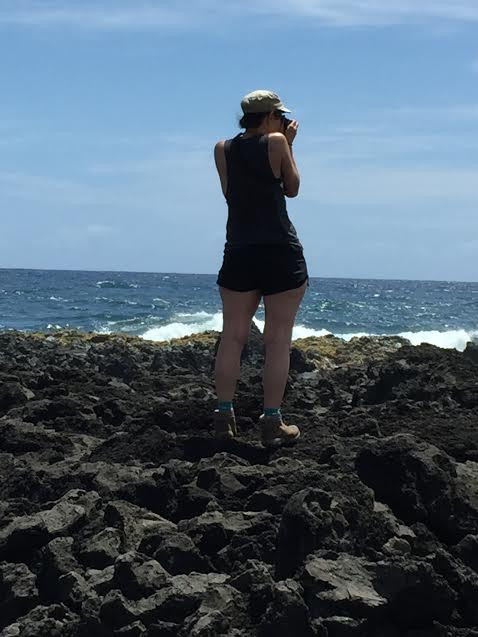 Looking out Waianu Maui Hawaii