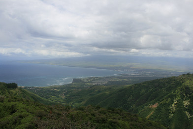 On site Waihee Ridge Trail