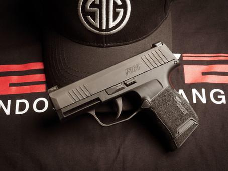 Sig P365 On The Range