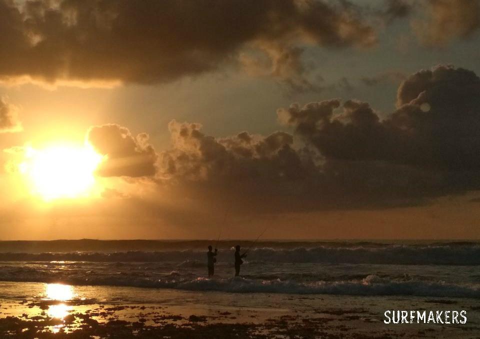 Самые красивые закаты на Бали - в январе