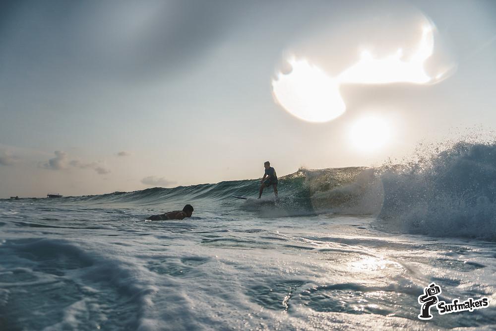 сёрфинг - хорошая интервальная тренировка