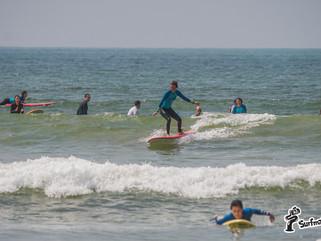 Чему учит сёрфинг на многолюдном споте