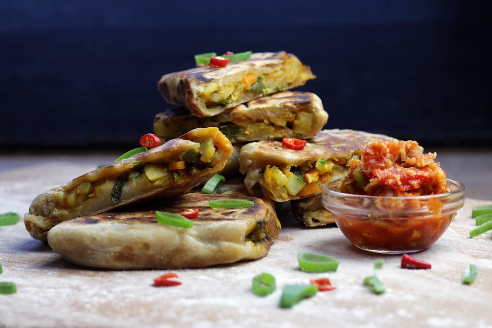 Самое традиционное блюдо Ланки - роти
