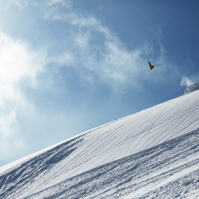 Степа Артемьев и сноуборд