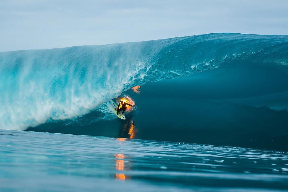 В сёрфинге главное - зажечь!