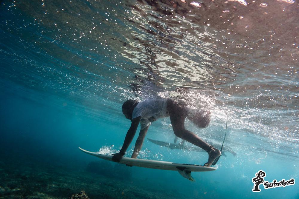 сёрфинг - это сильные мышцы