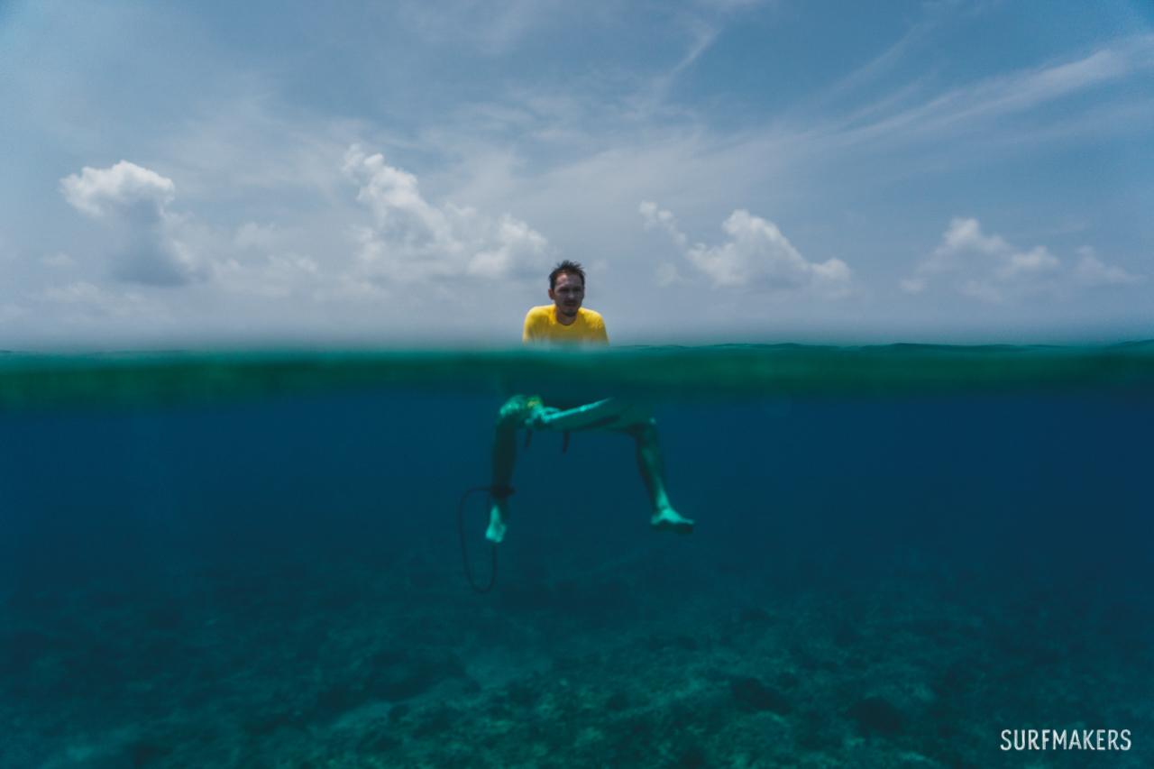 Серф-кемп на Мальдивах