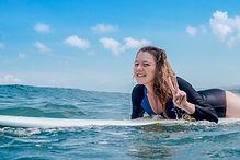 1 урок в школе серфинга